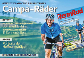 A:XUS Baiardo Evo in the magazine RennRad 06/2013